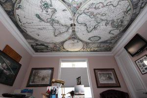 Натяжные потолки с фотопечатью в Великом Новгороде